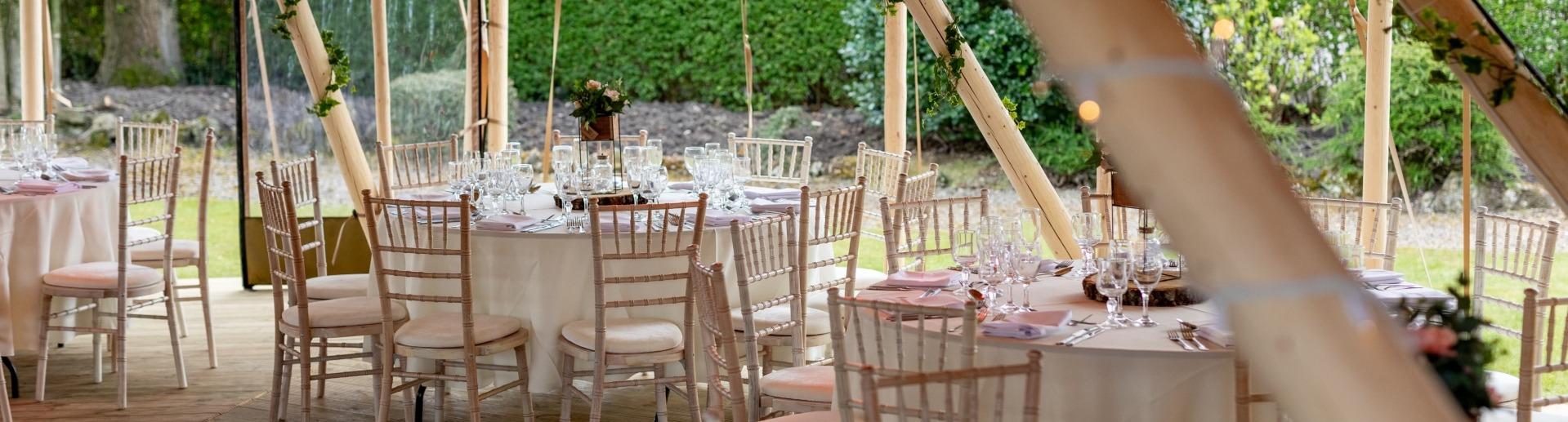 cedar Court Harrogate wedding tipi