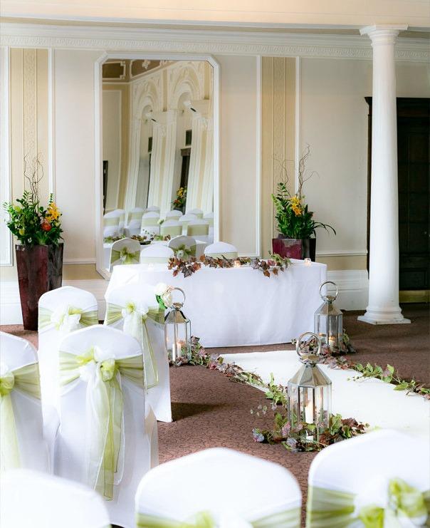 <Wedding aisle