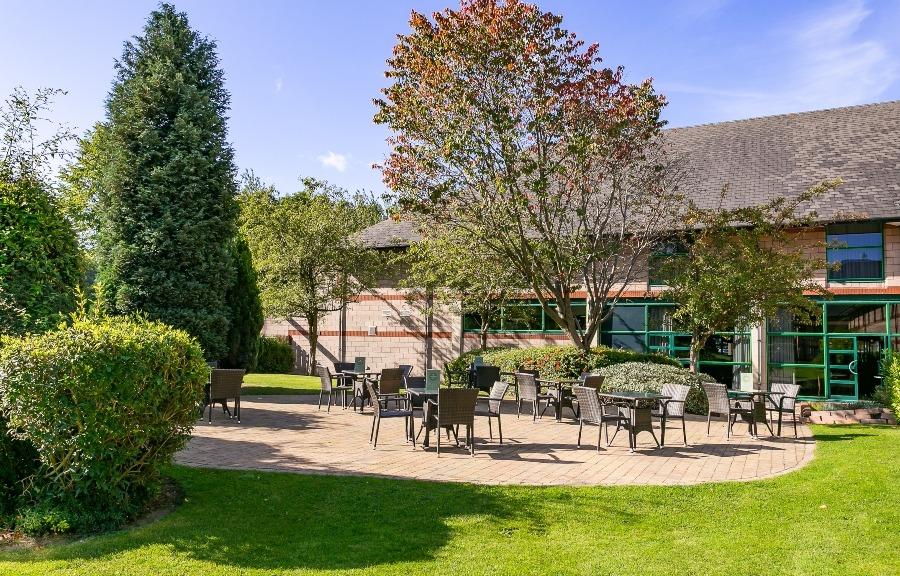 Cedar Court Wakefield garden