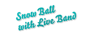Snow Ball with Live band